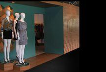 Vitrines / vitrines, visual merchandising e cenografias. Window shop, visual merchandising and scenography.