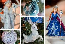 Ice Palace Christmas Style Collection / Release your inner child with snowflakes, ice princesses, and icy blue, pink, and purple decorations! / by Christmas Central