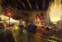 Jeremy Mann / Inspirational works by one of my favorite artists.