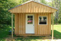 Cabin / Ideas for a tiny adorable bunk cabin
