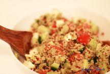 Salate / leckere Salate, natürlich glutenfrei