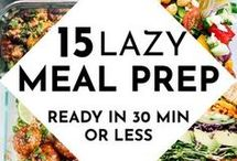 Meal Prep / This board covers all types of meal prep from lunch box prep for adults and kids to meal plans for a week of breakfasts or suppers.