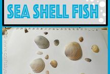 Craft ideas (sea shells)
