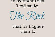 God is MY rock / Bible