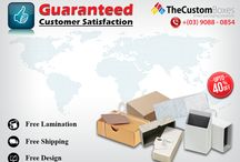 The Custom Boxes - Australia / This board is for sharing promotions and products.