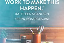Chalkboard Method / The Chalkboard Method is our favorite tool at Being Boss Podcast for tracking & manifesting goals for creative entrepreneurs and small business owners