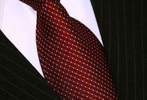Corbatas masculinas