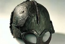 Viking Helmets / A selection of helmets worn during the viking period