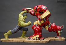 Avengers - Hulk vs Hulkbuster