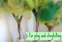 Storyteller and diy toys