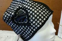cuffia berretta felpa creazioni artigianali Macrame Merceria / Galleria foto delle berrette in felpa create in merceria