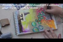 Cool Techniques for Mixed-Media Artists / Get inspired and learn a new skill with this fantastic collection of mixed media art techniques!
