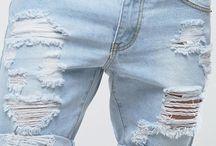 Dziurawe spodnie DIY