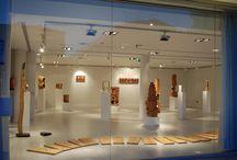La voz del árbol / Exposición de escultura, realizada especialmente para el Museo Tiflolófico de Madrid, en la que la madera es la protagonista esencial