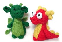 Create: Crochet Animals: Mythical / Unicorns, Dragons, Loch Ness Monsters, Big Foot, Yetis, Pegasus, Godzilla, Kraken, Abominable Snowmen, Cyclops / by Kaitlyn L