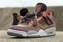 "Air Jordan Retro 4 ""Patchwork Louis Vuitton Don"""