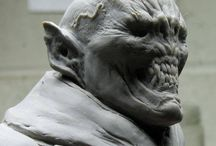 Monster, Movie & Toy Sculpts