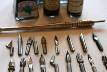 tools for calligraphy