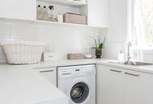 How to style laundry room and bathroom