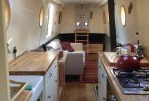 Narrowboat galley layout ideas