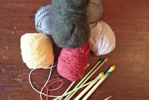 In Stitches-Learning to knit
