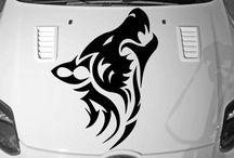 Wolf Auto Vinyl