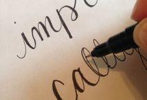 Calligraphy / Decorative writing