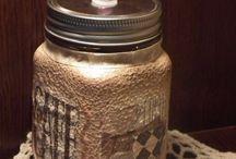 COFFEE decor garaffas, jars, glasses