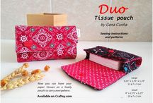 duo tissue pouch