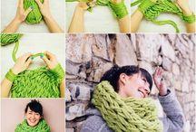 Pletení,  šití,  háčkování