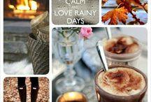 Jesenný čas / Jeseň je nádherná v svojej pestrofarebnosti...Aj daždivé dni môžu mať osobité čaro.