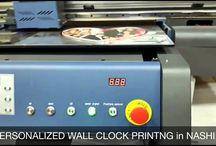 Wall Clock Printer