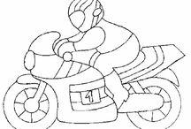 Motorrad Motive