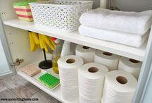 Organize - Bathrooms / Organizing bathrooms