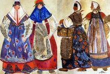 folk costumes / художник по костюмам