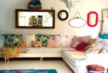 Home inspiration / Inspiración de colores texturas mobiliario para  el nuevo hogar