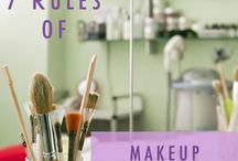 Makeup organising