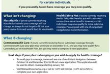 Affordable Care Act / We want to make sure people have an expert to go to in order to figure out which plans are right for them. Enrollment in new health insurance programs under the federal Affordable Care Act begin next week! We will provide one-on-one counseling six days a week, including evenings, and can be reached via email at healthinsurancehelp@manetchc.org or by telephone at 617-376-3000. Read about this at http://bit.ly/InsuranceQuestionsManet