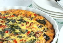 Recipes: Quiche and Eggs