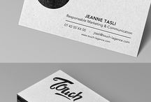 Color Edged Business Cards