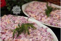 ķîrmızı lahana salatası