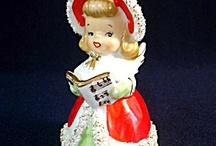 Christmas Bells, Candles & Figures