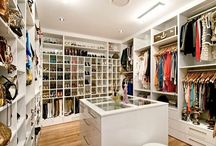 Interior Inspiration: Closets / by THE WIND OF INSPIRATION