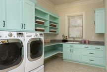 Laundry room / by Tiffany Hix Photography