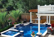 Award Winning Pools / Here are some photos of award winning pools that we've designed.