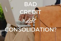 Bad Credit Solutions / Learn how to deal with bad credit and a poor credit history.