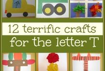 Letters T, U, V and W / by Tammy Dilling-Bohne