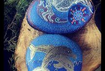 Minervastones / #stonepainting