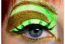 Colorguard makeup ideas