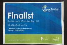 Premier's Sustainability Awards-Finalist 2016 Medium to Small Business Category. / Recognizing Beaconsfield Dental's  commitment to the environment.